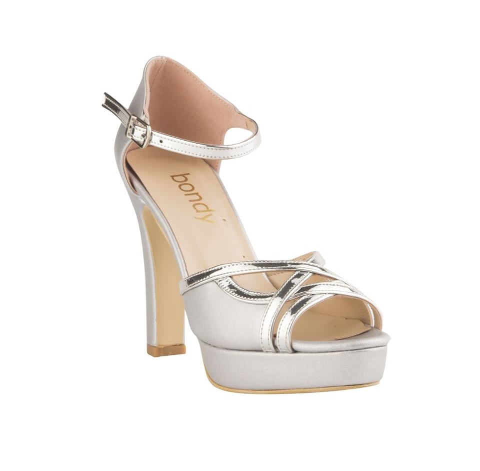 Comfy High Heel White Shoes