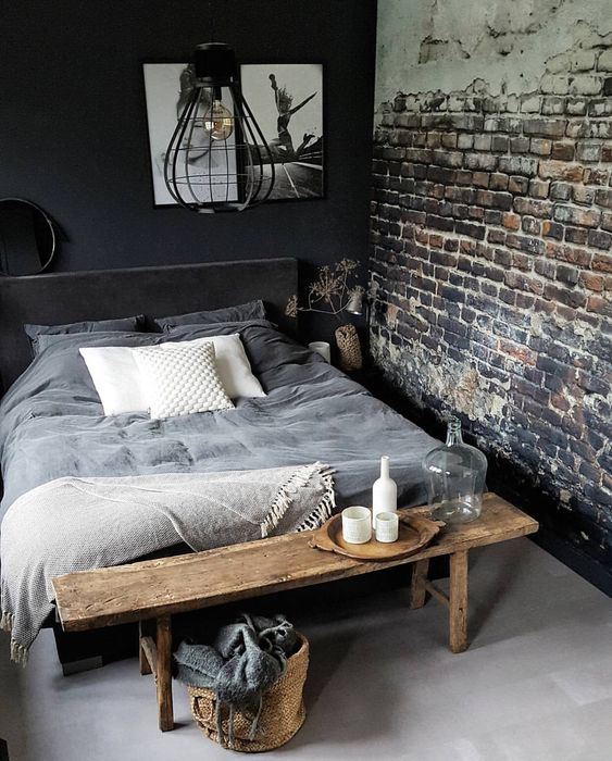50 Industrial Bedroom Design Ideas You Can Try In 2018
