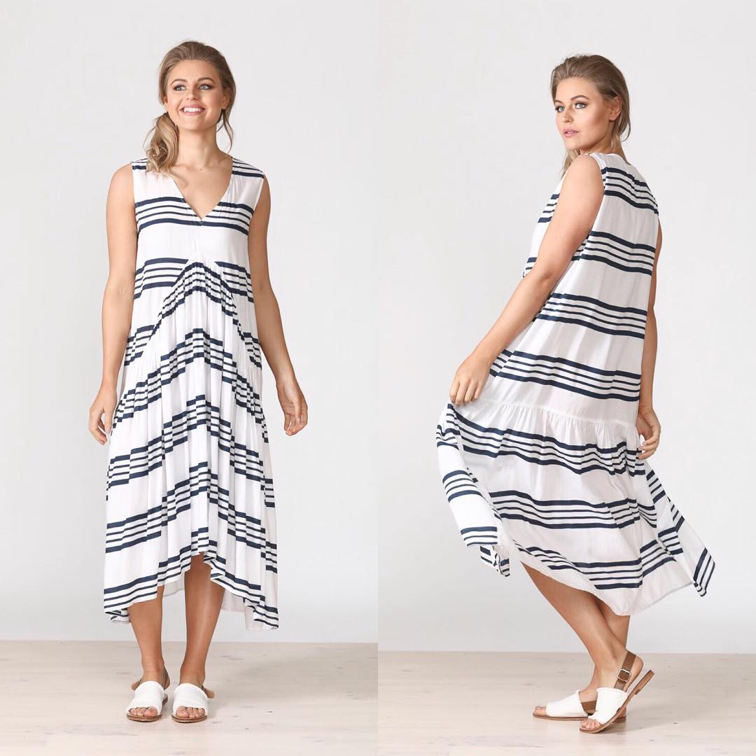 Cool Floaty Summer Dress For Holiday
