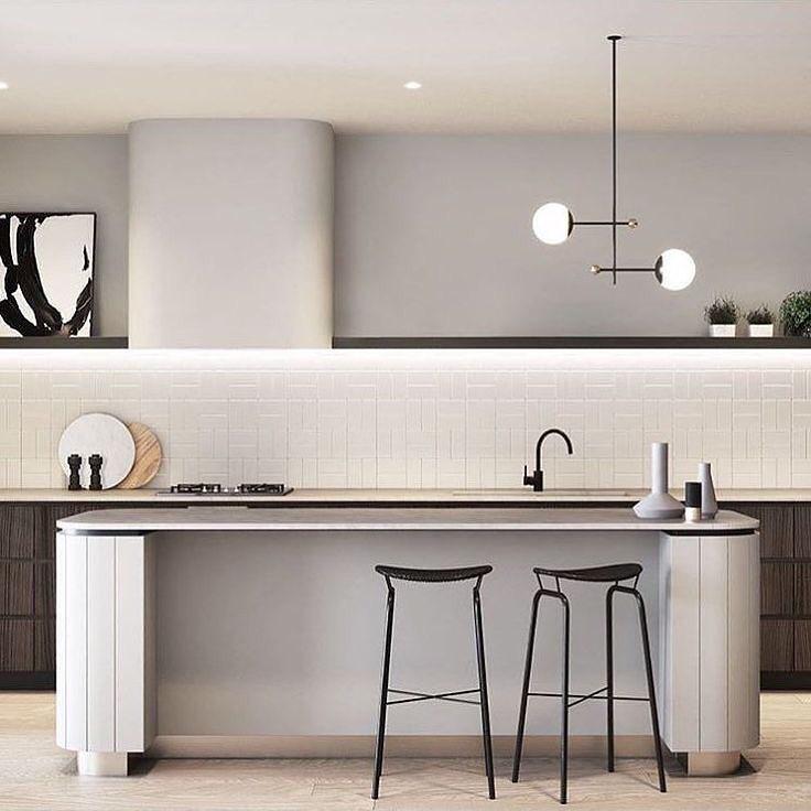 55 Best Kitchen Lighting Ideas: 55 Impressive Contemporary Kitchen Designs For Your Home