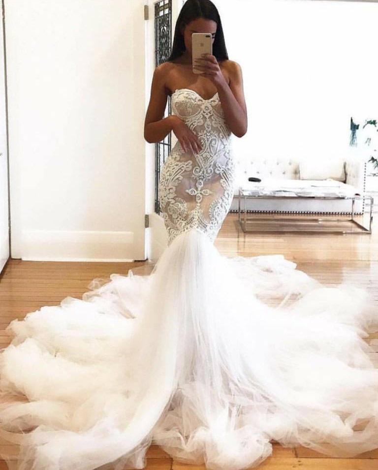 Fabulous Mermaid Style Bridal Dress