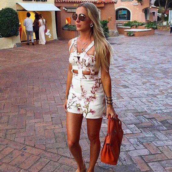 Floral Chic Summer Dress