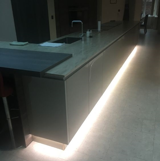High Power LED Plinth Lighting In Your Kitchen