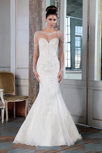Impressive Full Sleeves Wedding Dress