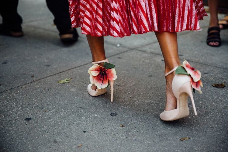 Marvelous Blooming Shoes