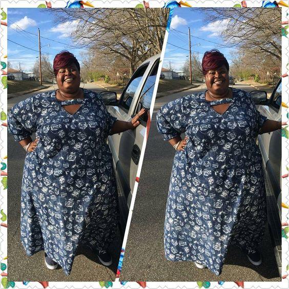 Marvelous Floral Grey Dress