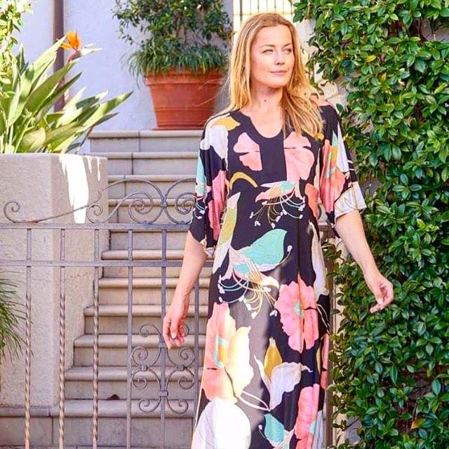Perfect Floral Bold Print Maxi Summer Dress
