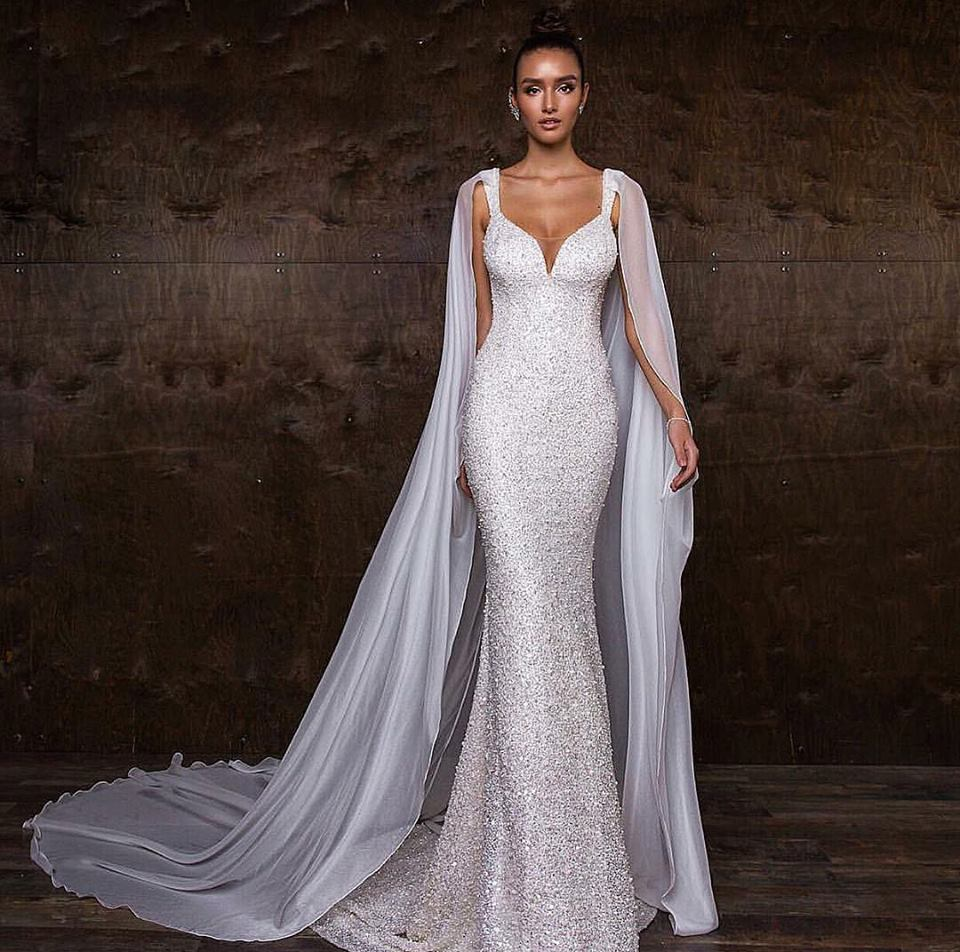 Rocking Style Of Wedding Gown