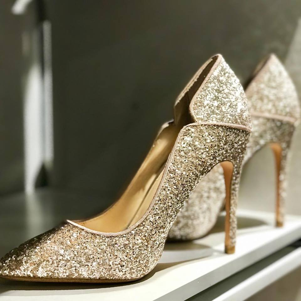 Sparkly High Heels For Party