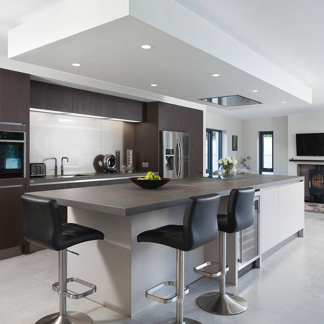 Stunning Bespoke Kitchen For A Renovated Detached Residence