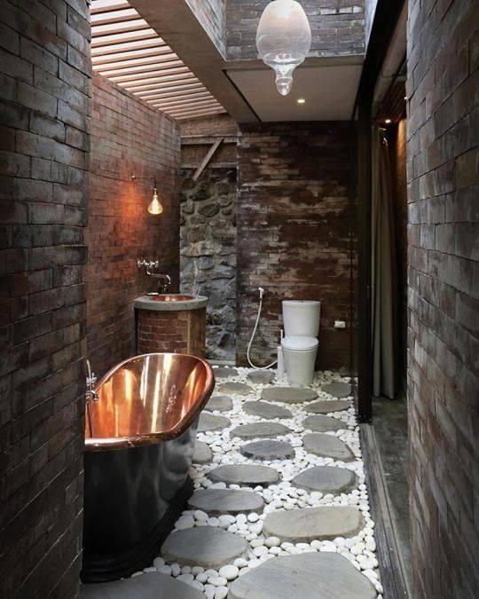 Unique Bathroom Themes: 45 Fabulous Rustic Bathroom Designs For 2018