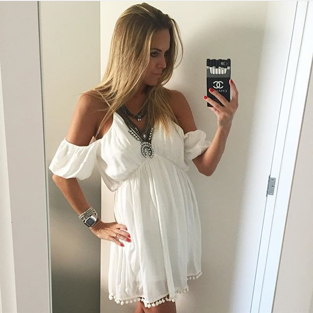 Thigh Length Dress To Get The Summer Style