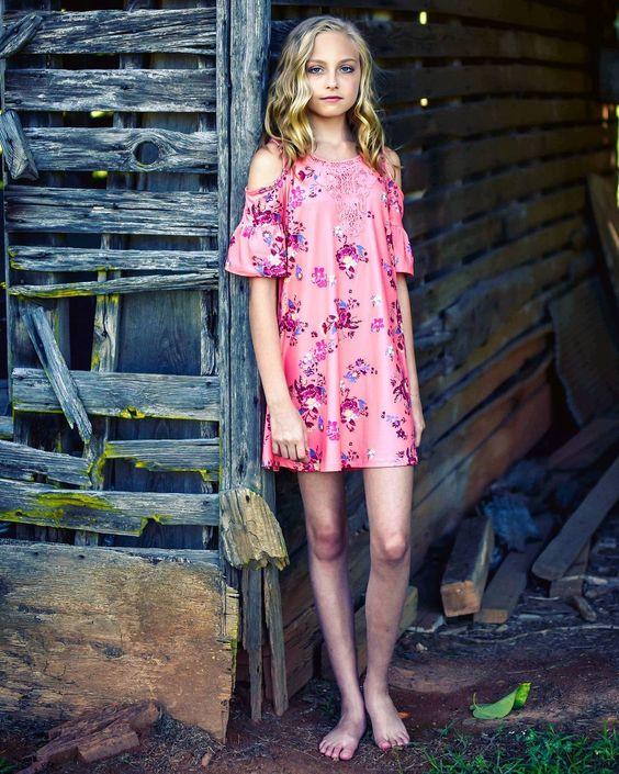 Wonderful Cold Shoulder Dress For Teenage Girl