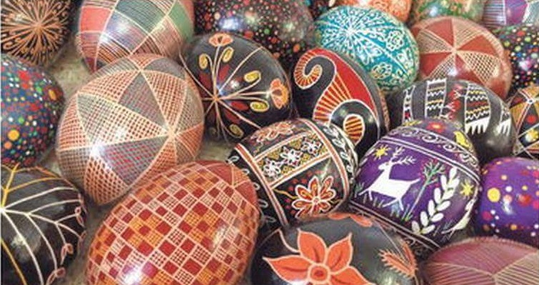 Artistic Painted Egg Shells