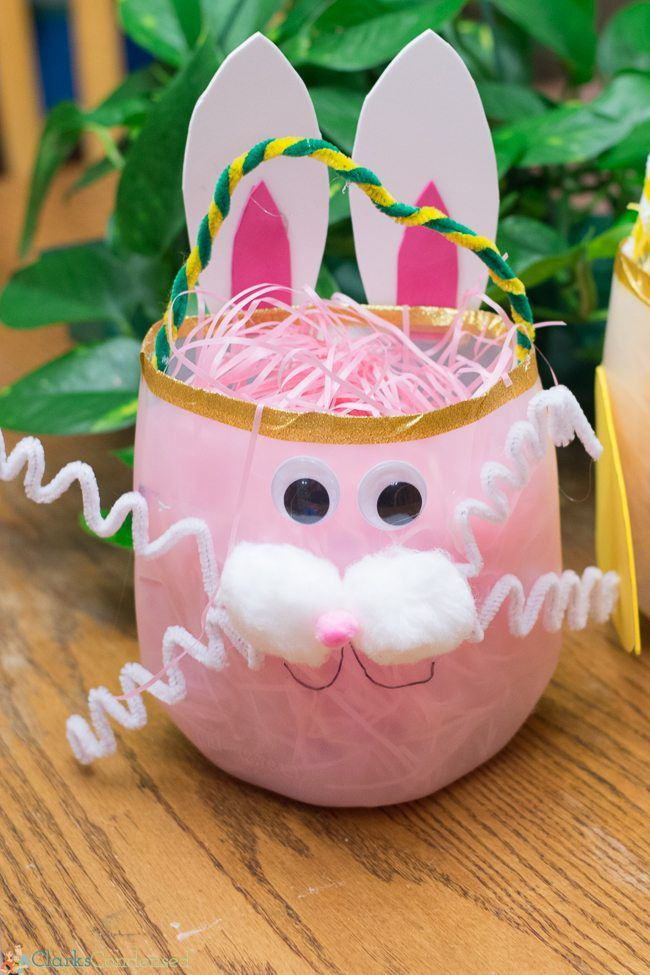 Best 55 easter basket ideas you will love 03 attractive bunny diy easter basket via negle Gallery