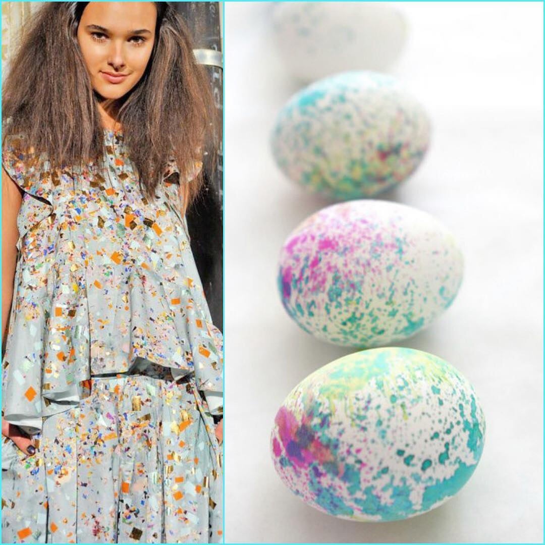 Awesome Marble Paint Decor On Egg