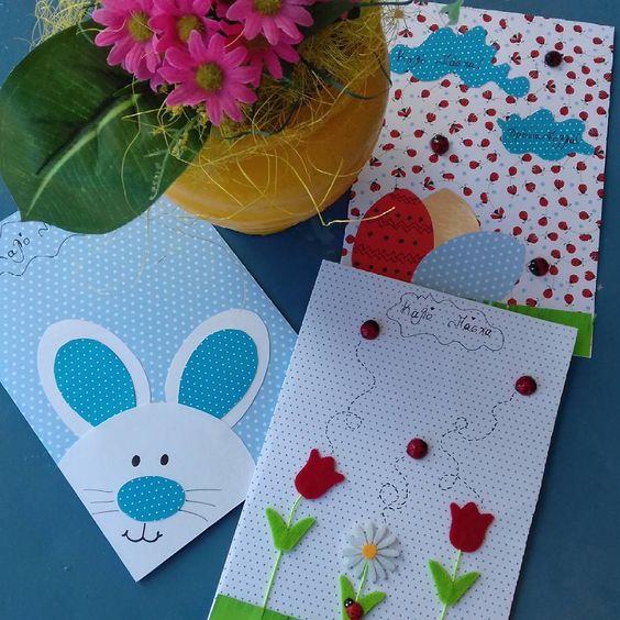 Beautiful DIY Bunny Easter Card