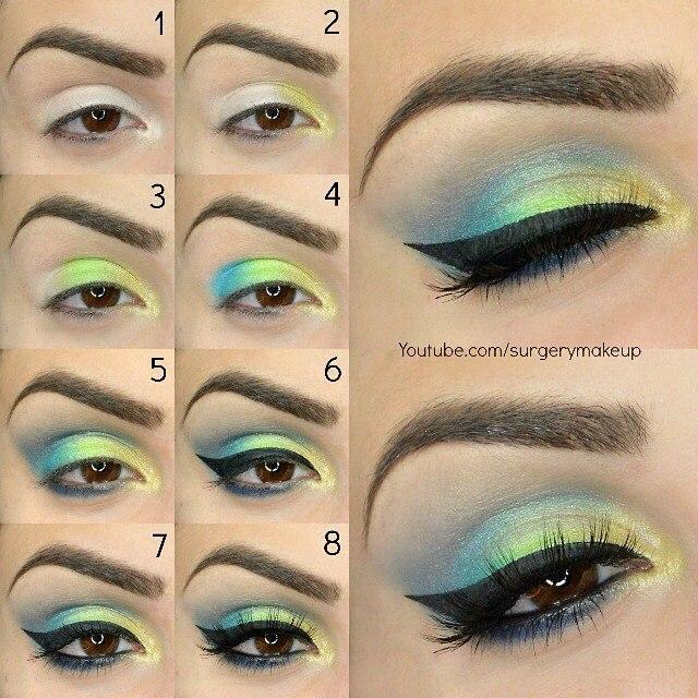 Beautiful Summer Eye Makeup
