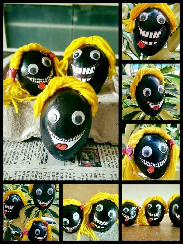 Black Monster Eggs