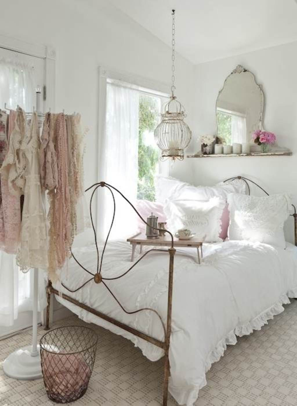 ... Bohemian Bedroom Interiors Idea Beautiful Vintage Bedroom Decor ...