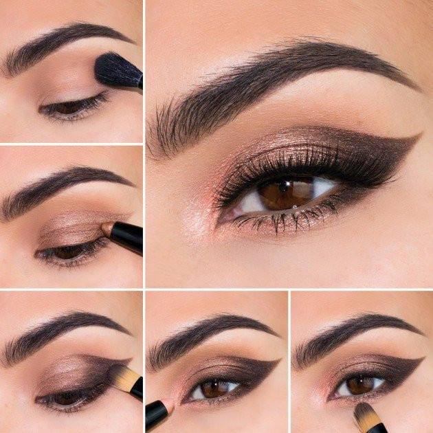 Bronze Eye Makeup Looks Fabulous In Summers