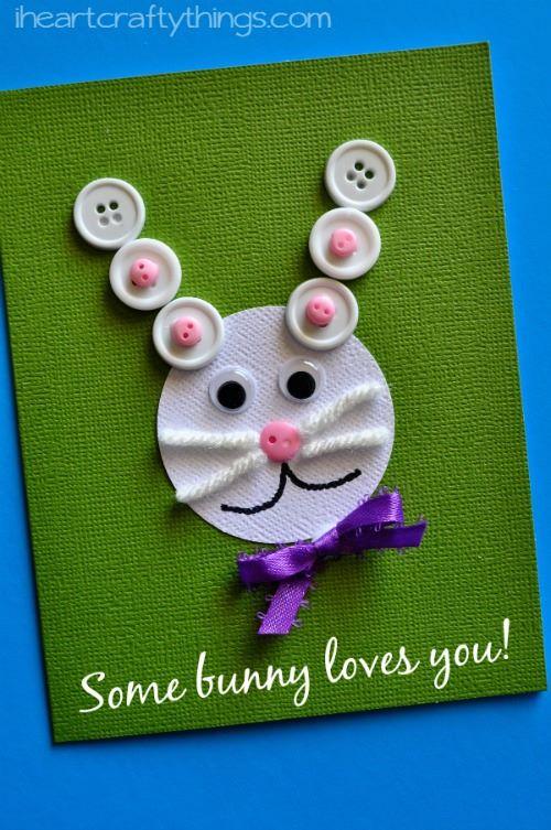 Bunny Card Ideas For Easter