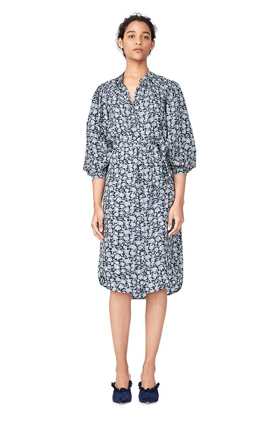 Casual Silk Shirt Dress For Spring Styling