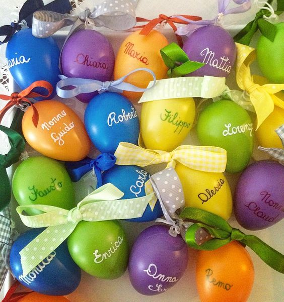 Chic Colorful DIY Eater Egg