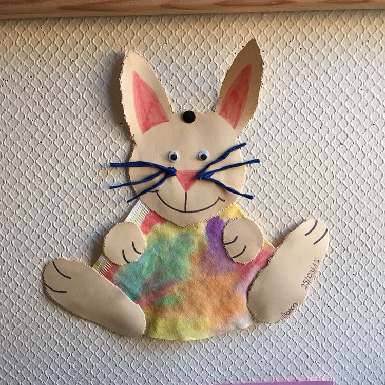 Coffee Filter Paper Used To Make Bunny