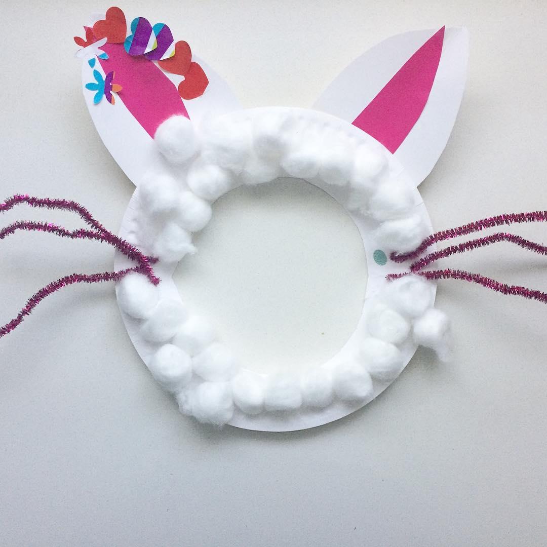 Creative Handmade Bunny Mede By Cotton