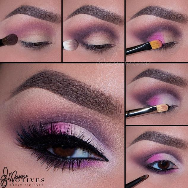 15 Creative Pink Touch Summer Party Makeup Tutorial Via