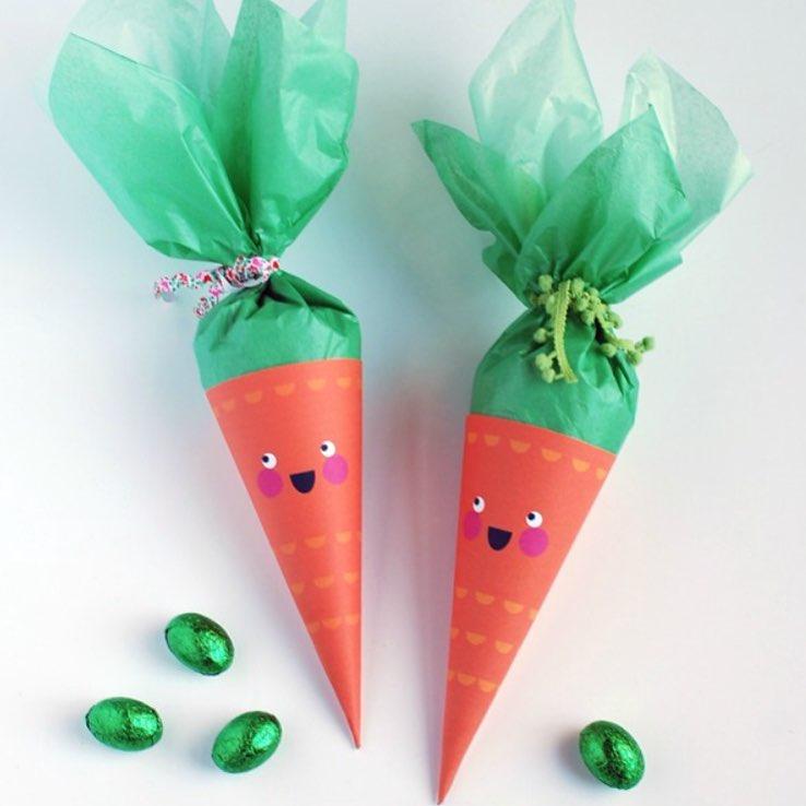 Cute Printable Artificial Carrot