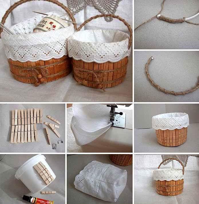 DIY Lacy Barrel Styled Easter Gift Basket