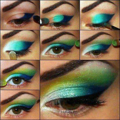 Dashing Eye Makeup Tutorial For Summer Parties