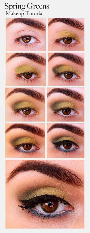 Dazzling Green Eye Makeup Tutorial