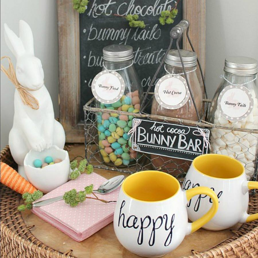 Dining Room Decorating Idea For Easter Party