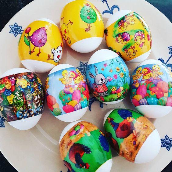 Disney Land Decorated On Egg