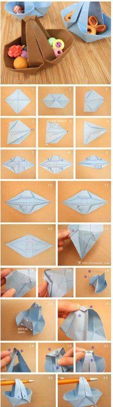 Do It Yourself Easter Paper Basket