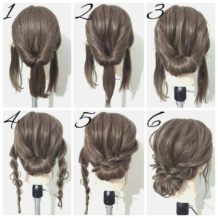 40+ Everyday Hair Updo Tutorials For Summer