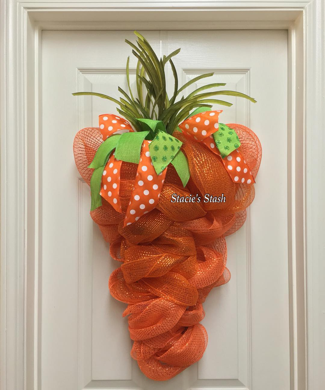 Exclusive Carrot Wreath For Easter