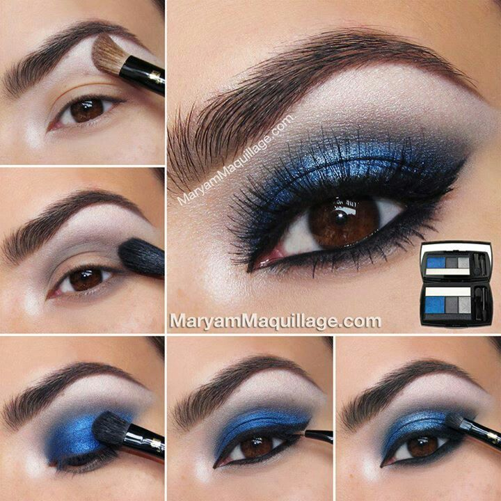 Eye Catching Smokey Blue Looks