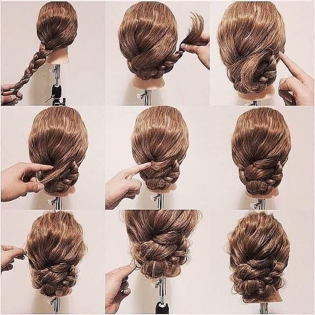 Everyday Hair Updo Tutorials For Summer
