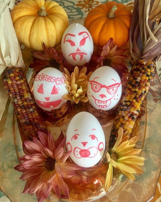 Festive Egg Decoration