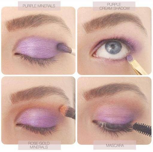 Flawless Purple Eye Makeup Tutorial