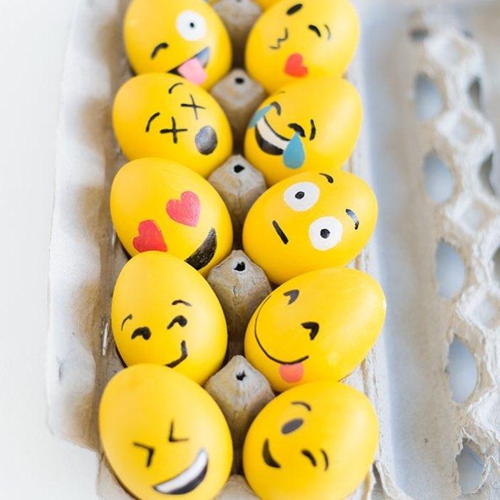 Funky Easter Egg Decor