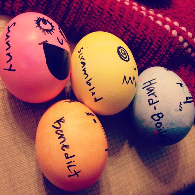 Funny Easter Egg Decor
