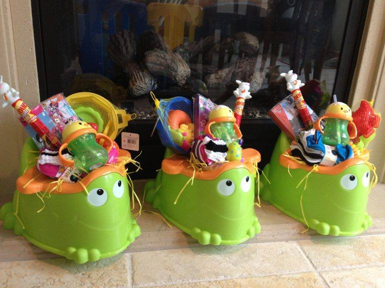 Funny Potty Chair Easter Basket Design