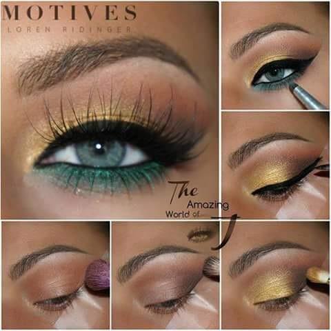 Glamorous Summer Eye Makeup