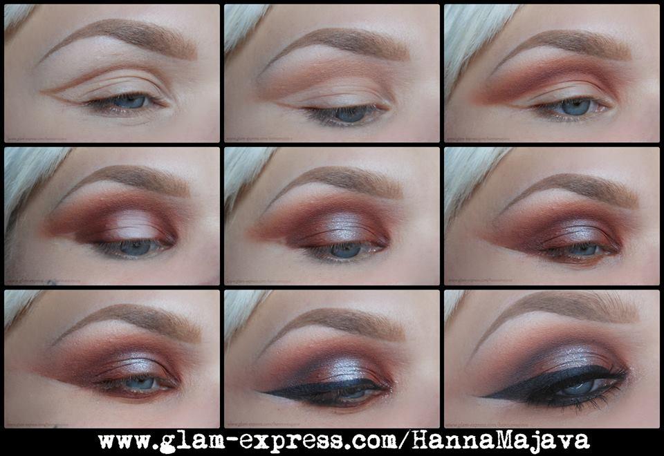 Glow Bronzed Smokey Eye Makeup Tutorial