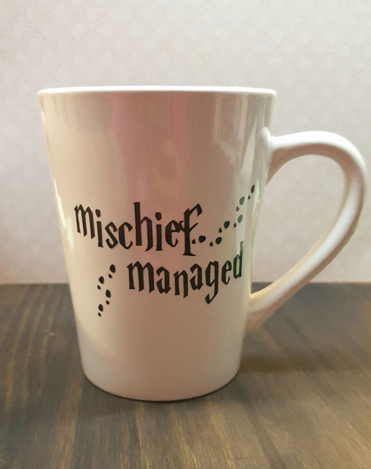 Gorgeous Mischief Managed Mug Idea For Harry Potter Lovers